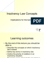 11Insolvency Law Concepts