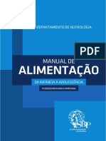 SBP Manual de Alimentacao Da Infancia a Adolescencia 2018