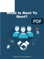 WHAT IS RENT TO RENT AND HOW CAN I MAKE MONEY FROM IT?