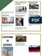 Costumbres en Rusia