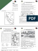Ficha de Regiones Naturales