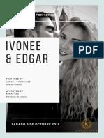 Copia de Ivonne y Edgar Nuestra Boda