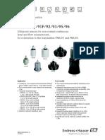 Prosonic S FDU 91.92