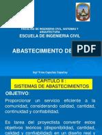 Saneamiento Cap II Sistema de Abastecimiento[1]