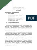 Syllabus Quimicalic. Trujillo 2019