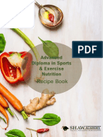 Sports Nutrition Recipe Book