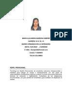 Maira Alejandra Babrosa Dos