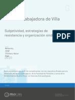 Winter-La Clase Trabajadora de Villa Constitucion
