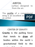 Airfoil, Center of Gravity, Axes of an Aircraft