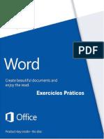 Exercícios de Microsoft Word