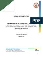 6.0 Estudio Transito Tabla de Conteo de Vehiculos Puente Salvador