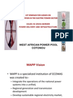 Issues in Cross-Border Power Delivery and Infrastructure