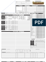 picture relating to Pathfinder Character Sheets Printable called Editable Pathfinder Identity Sheet
