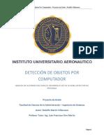 Versión 32 Del TFG Rodolfo Villanueva Detección de Objetos Por Computador