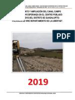 1. Informe Topografico Canal Nueva Esperanza