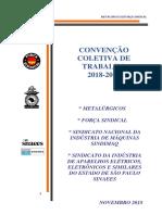 Sindimaq Sinaees Força Sindical CCT 2018 VERSÃO FINAL