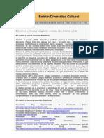 Boletín Diversidad Cultural_CREI_nº 103 _21_11_10