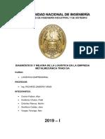 Trabajo Final UNI Logistica Alex Cerron Fidel Gutierrez Martin Ordoñez Jairo Sevillano Alex Vargas