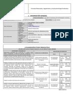 Formato Planeacion Seguimiento y Evaluacion Etapa Productiva JOHN MAURICIO TEJADA GUTIERREZ