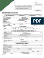 Formato Para Registro de Obra
