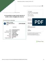 Departamento de Antioquia - Impuestos de Vehículos - NR