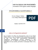 Sanitaria i Introduccion. Parte i
