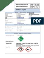 Hds 03 Oxigeno Liquido