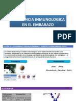 Tolerancia Inmunologica en El Embarazo
