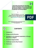 Optimizing the Exploitation of Natural Energy Resources in Nigeria for Accelerated Socio-Economic Development