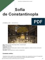 Santa Sofía de Constantinopla _ El Arte en La Mirada