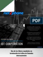 Net2Phone Presentación Portafolio Distribuidor