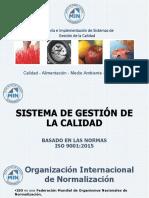 Presentación ISO 9001 - 2015 V4