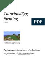 Egg Farming for Beginners