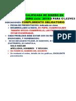 Practica Calificada Domiciliaria de Diseño en Acero 2019-II