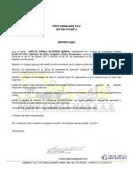 Certificacion Pony Carga