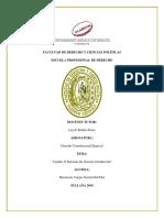 Dilema Constitucional Peruano, Cambio o Reforma de Nuestra Constitución