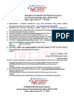 Formulir Pendaftaran IWE2020 Chapter Japan.doc