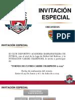 Invitacion Caribe Champions Junio 2019 - Cartagena - Categorias 2009(1)