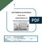 Lab 1 Uso de Modulo de Potencia.