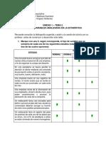 Unidad 1 – Tema 2. Tipos de Variables Analizadas en La Estadística