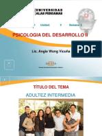 Ayuda 5 Adultez Intermedia