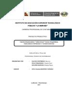 Imprimir Informe Final Del Proyecto