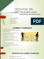 Metodologia Del Cambio Planificado Final.
