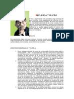 Giobbi - Recuerda y Olvida (3 p)