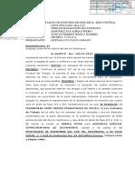 Modelo de Resolución que incorpora medios probatorios