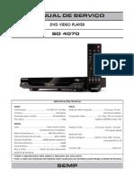 Manual de Serviço Sd4070 Completo