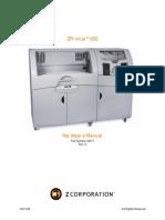 Manual ZPrinter 650 - Hardware Overview