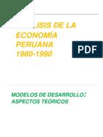 Economia Peruana 1980-1990