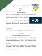Campeonato de Mini Futbol Libre 2019