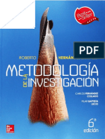 METODOLOGIA DE LA INVESTIGACION SAMPIERI